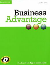 Cambridge BUSINESS ADVANTAGE Teacher's Book UPPER-INTERMEDIATE | J. Birkin @NEW@