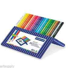 24 STAEDTLER ERGOSOFT ® 157 Desktop Set/triangolare Matite Colorate/arte/terapia