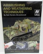 Vallejo - Airbrushing And Weathering Techniques - New (Book)