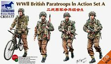 Bronco 1/35 35177 WWII British Paratroops In Action Set A