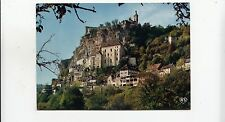 BF31132 echappee sur le site pittooresqu rocamadour lot  france front/back image