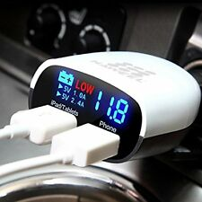 Car Charger With Battery Indicator !!!Hot Item!!!