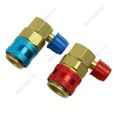 Useful R134a QC15 AC Quick Connector Adapter Coupler Car Auto Air-Conditioning