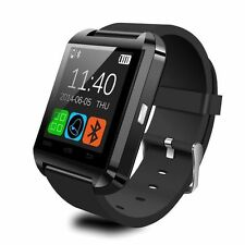 NUOVO Bluetooth Smart Watch for Android & dispositivi iOS costruito nel Microfono e Altoparlante