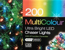 200 Ultra Bright LED Chaser Lights Christmas Lights Outdoor Indoor Xmas Lights