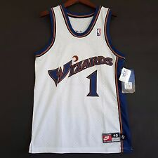 100% Authentic Rod Strickland Washington Wizards NBA Nike Jersey 40 M - jordan