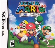 Super Mario 64 DS (Nintendo DS, 2004) - US Version