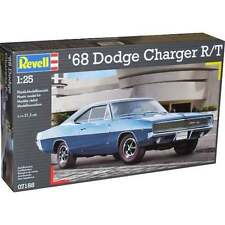 Revell 1:25 68 Dodge Charger R/T Model Car Kit - 07188