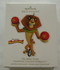 Hallmark 2012 Madagascar Alex the Lion The Mane Event Christmas Ornament