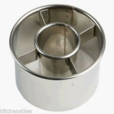 ATECO DONUT CUTTER 2.5 INCH STAINLESS STEEL ROUND COOKIE DOUGHNUT CUTTER NEW