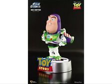 Disney PIXAR Beast Kingdom Egg Attack Toy Story Buzz Lightyear Figure LED Light
