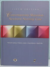 Contemporary Maternal-Newborn Nursing Care 5th Edition. Actual book and CD!