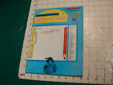 Unused High Grade: FIND-A-WORD april 1974: fun tastic, complete UNUSED