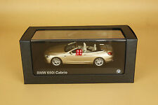 1/43 bmw 650i cabrio gold color die cast model