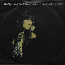"BUFFY SAINTE-MARIE 'THE BIG ONES GET AWAY' UK PICTURE SLEEVE 7"" SINGLE"