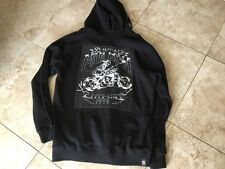 Metal Mulisha Rare graphics  patch Zipper Hoodie 2X