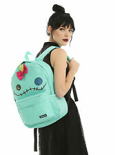 Disney Loungefly Lilo & Stitch Scrump Bow Backpack School Book Bag W/side pocket