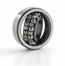 1204 20x47x14mm Quality Budget Self Aligning Ball Bearing Cylindrical Bore