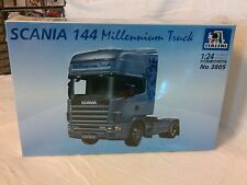 Italeri 1:24 scale Scania 144 Millenium Truck, made in 2000 still shrink wrapped