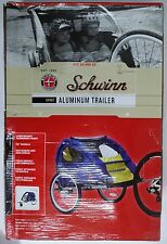 SCHWINN SPIRIT BIKE/BICYCLE TWIN/DOUBLE/2 CHILD ALUMINUM TRAILER/STROLLER FOLDIN