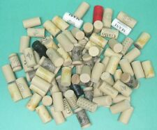 125 Used plastic wine corks for arts and crafts