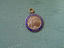 1964 LONDON NEW ERA ACADAMY DANCE & MUSIC ELOCUTION - ENAMEL MEDAL BADGE E GUEST