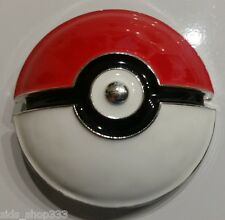 Pokemon POKE BALL Raised graphics Metal/Enamel BELT BUCKLE great collectible