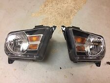 2010-12 Ford Mustang Headlights Halogen (Pair)