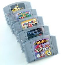 Strong & Light Plastic Cartridge Protectors for N64 game paks (5 Pack)