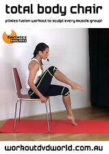 Pilates Fusion EXERCISE DVD - Barlates Body Blitz - TOTAL BODY CHAIR WORKOUT!