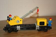 LEGO Trains 12v 7814 Crane Wagon / Kranwagen/waggon Eisenbahn