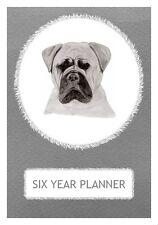 Bullmastiff Dog Show Six Year Planner/Diary by Curiosity Crafts 2017-2022