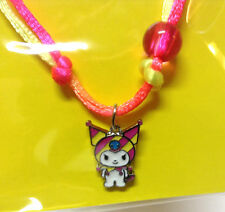 Sanrio Kuromi Charm Bracelet Neon Pop Art from Sanrio Friends Collection kawaii