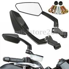 Universal 8mm 10mm CNC Aluminum Motorcycle Rearview Reflector Mirror For Honda