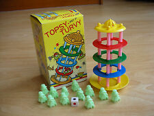 Child's Game: TOPSY-TURVY ; Balance and fun! Boxed -all original parts, complete