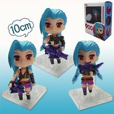 "LEAGUE OF LEGENDS/ FIGURA JINX 10 CM - LOL NENDOROID  4"" IN BOX #900"