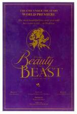 BEAUTY AND THE BEAST (BROADWAY) Movie POSTER 11x17 B Terrence Mann Susan Egan