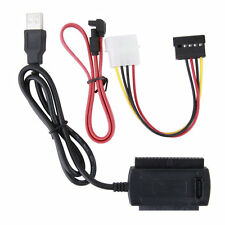 SATA/PATA/IDE Drive to USB2.0 Adapter Converter Cable for 2.5/3.5 Hard Drive FCH