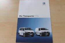 83004) VW Bus T5 Transporter City Prospekt 11/2006
