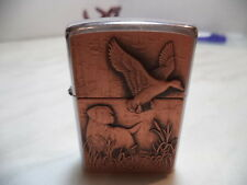 ZIPPO LIGHTER  FEUERZEUG COPPER BIRD DOG  VERY RARE  NEW