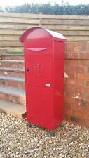 05 METZ Large RED Letter Box, Post Box Mail Box Letterbox large tall red box