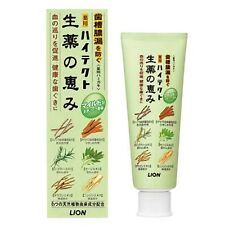 Lion☀Natural Medicated Toothpaste HI-TECT Six Natural Plants Mild herb mint 90g