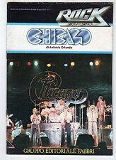 rivista magazine - Rock Storia e Musica - CHICAGO