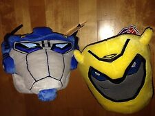 Transformers Animated Bumblebee Optimus Prime Lot Of 2 Easter Halloween Baskets