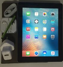 #GRADE a # apple ipad 4th gen écran retina 16GB wi-fi + 4G (vodaphone) + extras