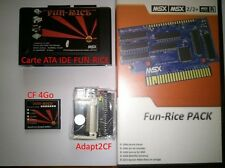 MSX 2/2+/Turbo R SUNRISE CLONE ATA IDE + CF 4Go