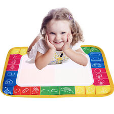 Baby Water Drawing Painting Writing Mat Board & Pens Doodle Games Kids Toys BE