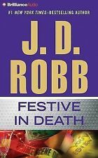 In Death: Festive in Death 39 by J. D. Robb (2015, CD, Abridged)