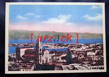 MESSINA Vecchia Cartolina Primo Colore VEDUTA PANORAMICA Duomo
