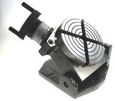 100 mm / 10.2cm Inclinación Mesa Giratoria Para Fresadora etc de Chronos